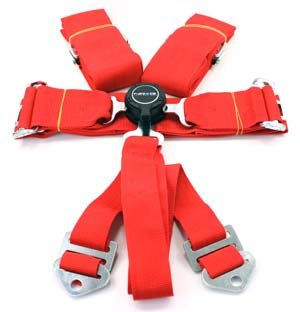 Nrg Innovations Sbh-6Pcr Cam Lock Seat Belt Harnesses