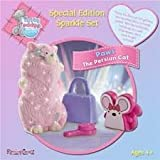 Me To You Tatty Teddy & Mmy Blue Nose Friends Special Collecters Edition Sparkle Set Paws Tthe Persian Cat