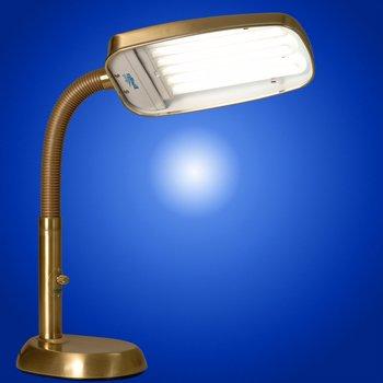 Cheap Bluemax 70w Full Spectrum Dimmable Desk Lamp Brass