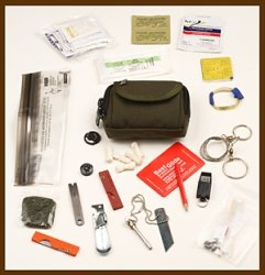 ESEE Knives Survival Kit Basic Professional Survival Pocket Kit by ESEE