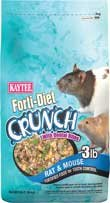 Forti Diet-Crunch Mouse & Rat Food, 3 Lb Bag