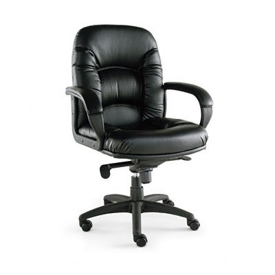 Alera Nico Mid-Back Swivel/Tilt Office Chair, Black