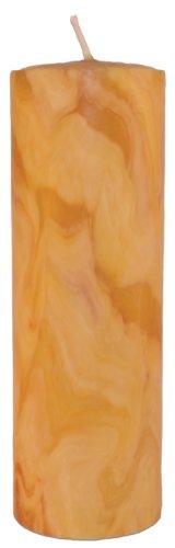 Palettas massive handgeknetete Stumpenkerze Ø 90 mm h 250 mm 1 Stück 100% reiner Bienenwachs