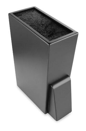 prabu ira ekitch large bloc pour couteaux universel noir. Black Bedroom Furniture Sets. Home Design Ideas