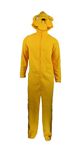 Oem Men's Jake Costume Adventure Time Finn Dog S/M Yellow
