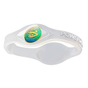 Power Balance / GWSA09BK00WTLP Bracelet silicone Blanc transparent XS