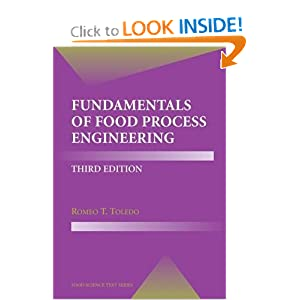 Fundamentals of Food Process Engineering (Food Science Text Series)