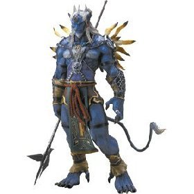 Amazon.com: Final Fantasy X 1/6 Scale Figure Collection #5 Kimahri