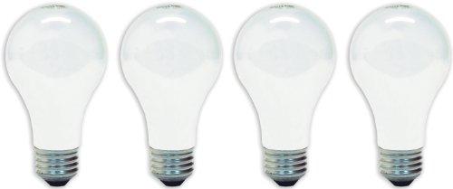 GE Lamps 41032 75-Watt A19, Soft White, 4-Pack