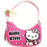 Hello Kitty Sanrio White Flower Purse Handbag