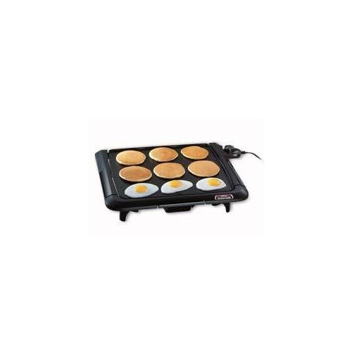 Presto 07045 Griddle Cool Touch With Tilt 15 By 14 Inches