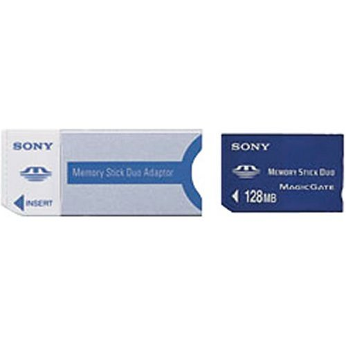 Sony Duo Msh-m128a 128 Mb Memory Stick Retail Package at Electronic-Readers.com