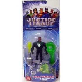 Justice League Cyber Trakkers Green Lantern