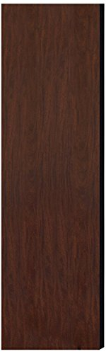 Salsbury Industries 22243Mah Double End Side Panel For 18-Inch Deep Extra Wide Designer Wood Locker Without Sloping Hood, Mahogany Brown front-593792