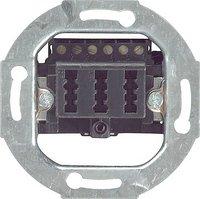 Gira TAE-Anschlußdose schwarz 003310