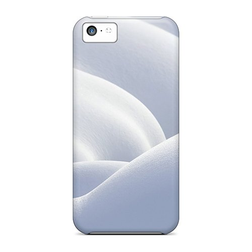 Snap-On Case Designed For Iphone 5C- White Snow Mac Os