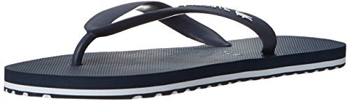 Lacoste Men's Nosara Lcr Spm Flip Flop, Dark Blue/White, 12 M US