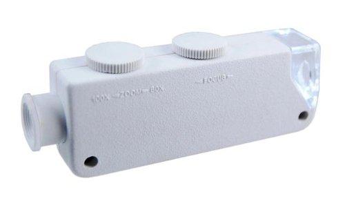 Se - Microscope - Led Illuminated, White, 60X-100X - Mw10081