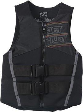 Black Men/'s Henderson Thermoprene Vest Front Zip