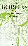 Gesammelte Werke 01. Essays.  1, Teil 1 (3446196846) by Jorge Luis Borges