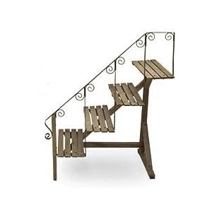 Scaletta in legno portavasi for Scaletta portavasi