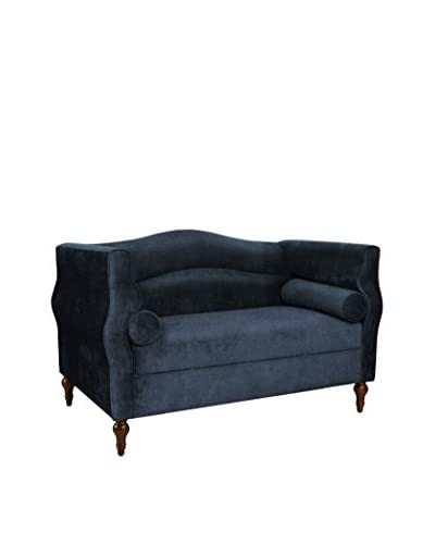 Jennifer Taylor Home Elliott Loveseat, Blue
