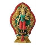 Redbag Buddhist Goddess Tara Brass Statue ( 39.37 Cm, 26.67 Cm, 12.07 Cm )