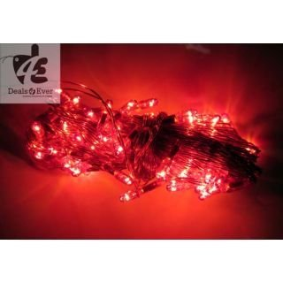 ASCENSION Red Rice Lights Serial Bulb Decoration Light For Diwali Navratra Christmas