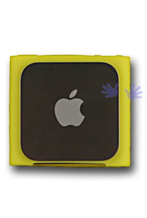 HHI iPod Nano 6th Generation Silicone Looper Skin Case - Yellow чехол для ipod nano 3g