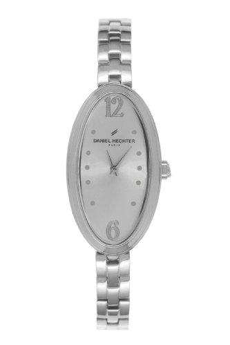 Daniel Hechter-DHD - 008/FSM Women's Watch Analogue Quartz Silver Dial Silver Steel Strap