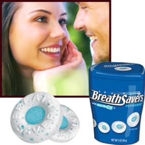 Breath Savers Peppermint Mints, 3-Ounce Container