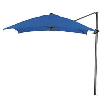 Luxury California Umbrella Feet Polyester Square Cantilever Steel Market Umbrella