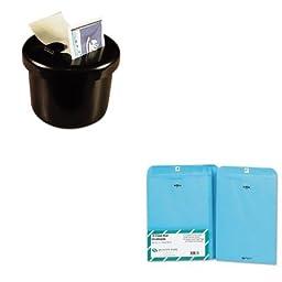 KITLEE40100QUA38737 - Value Kit - Quality Park Fashion Color Clasp Envelope (QUA38737) and Lee Ultimate Stamp Dispenser (LEE40100)