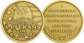 Veterans in Recovery- Bronze Medallion