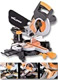 Advanced EVOLUTION (POWERTOOLS) - RAGE3-S 110V - MITRE SAW, SLIDING, M/PURPOSE, 210MM - Min 3yr Cleva Warranty