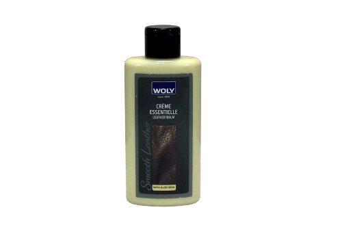 Woly Woly Leather Balm Shoe Treatment And Polish Clear 150 Milliliters (Transperant)