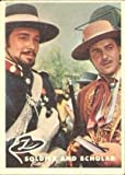 1958 Topps Zorro by Disney (Non-Sports) Card# 7 soldier and scholar VGX Condition