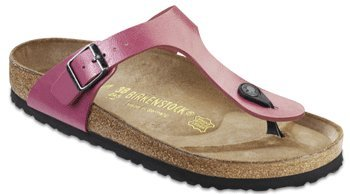 Birkenstock Gizeh Sandals Thong graceful camelia rose Birko-Flor Narrow