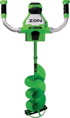 Ion ION Electric Ice Auger - 40 Volt Max. Li- Battery, 8in. Dia. Blade, Model# 11733