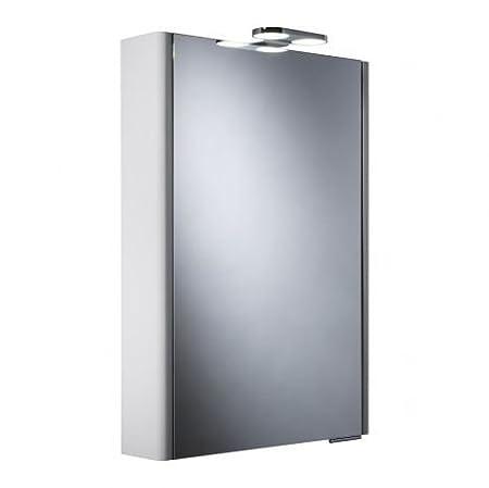 Roper Rhodes Phase Single Mirror Glass Door Bathroom Cabinet