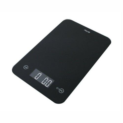 Cheap American Weigh Scales Thin Digital Kitchen Scale (ONYX-5K-BK)