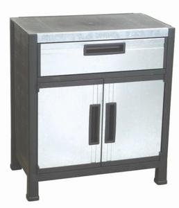 HEAVYDUTY 2 DOOR TOOL BOX STORAGE CABINET CHEST CART ORGANIZER GARAGE TABLE NEW