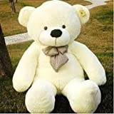 Big Large Plush Teddy Bear White 80CM