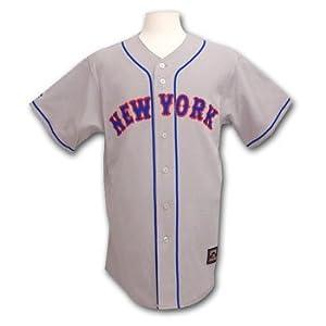 New York Mets Cooperstown Fan Baseball Jersey by Majestic