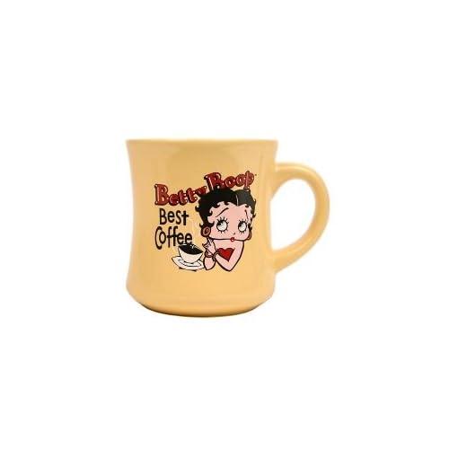 Betty Boop Best Coffee Yellow Coffee Mug