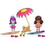 Hasbro, Strawberry Shortcake, Celebration Playpack, Sun-Lovin' Beach (Plum Pudding, Orange Blossom, and DVD), 3 Inches