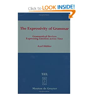 Amazon.com: The Expressivity of Grammar: Grammatical Devices ...