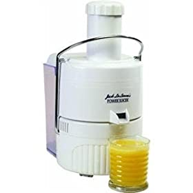 Tristar 70-oz. Jack LaLanne's White Classic Power Juicer, White