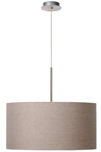 lucide-61455-50-41-cliff-lampada-a-sospensione-in-lino-talpa