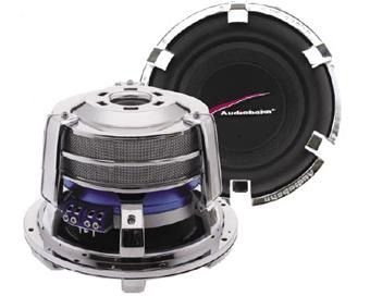 "Audiobahn AW1005N, 25cm (10"") Subwoofer, Série Ultra Excursion, 900W RMS"